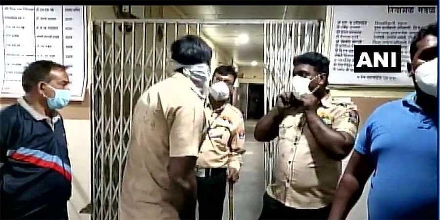 massive fire at Maharashtra hospital