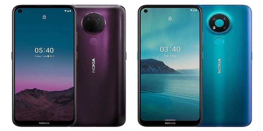 Nokia 5.4, Nokia 3.4 With Qualcomm Snapdragon SoCs, 4,000mAh Batteries Launched in India: Price, Specifications