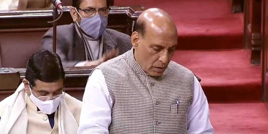 Rajanath Singh spoke at Rajya Sabha