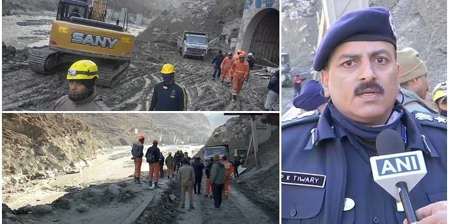 Rescue operation continues at Tapovan in Chamoli District on the sixth day