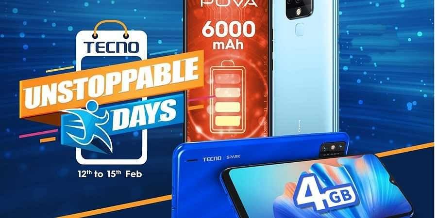 TECNO Unstoppable Days Sale
