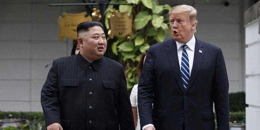 North Korea leader Kim Jong Un (left) and US President Donald Trump (right) (File photo  AP)