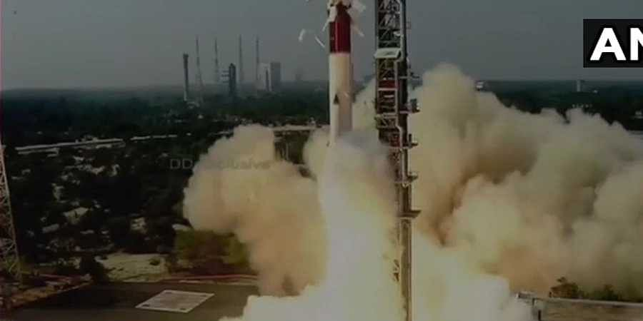 ISRO launches PSLV-C51 carrying Amazonia-1 and 18 other satellites from Satish Dhawan Space Centre, Sriharikota