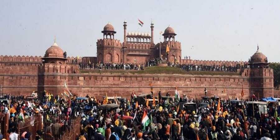 On this day 71 years later, an attempt was made to desecrate the symbol of Indian Sovereignty — the Lal Quila.
