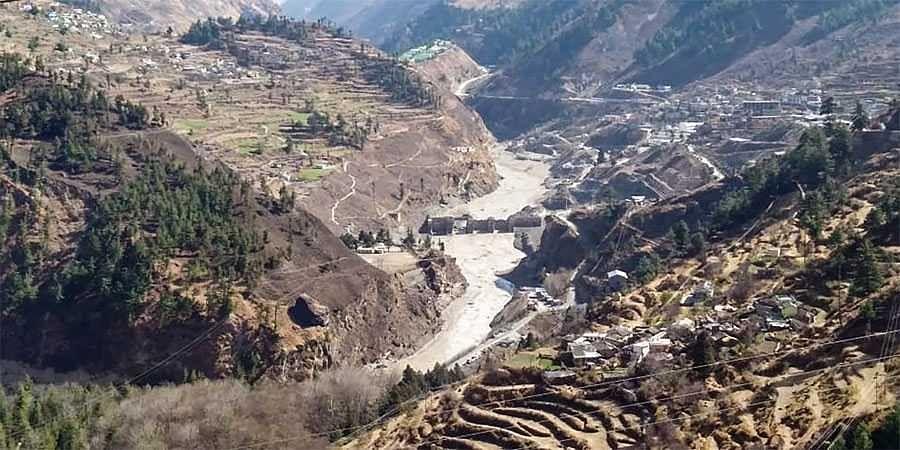 Himalayan glaciers melting