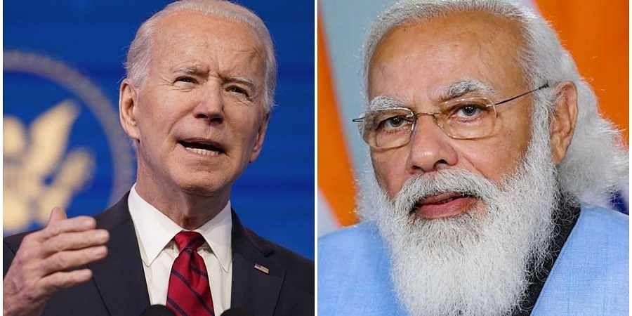 Joe Biden-PM Narendra Modi