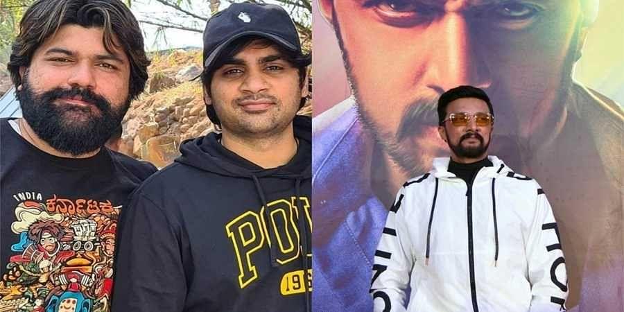 'Saaho' director Sujeeth meets Kichcha Sudeep