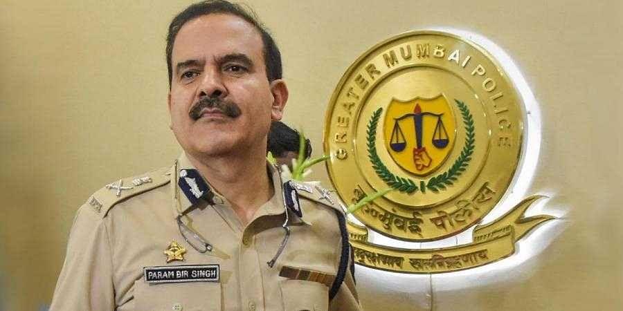 Former Mumbai Police chief Param Bir Singh. (File   PTI)