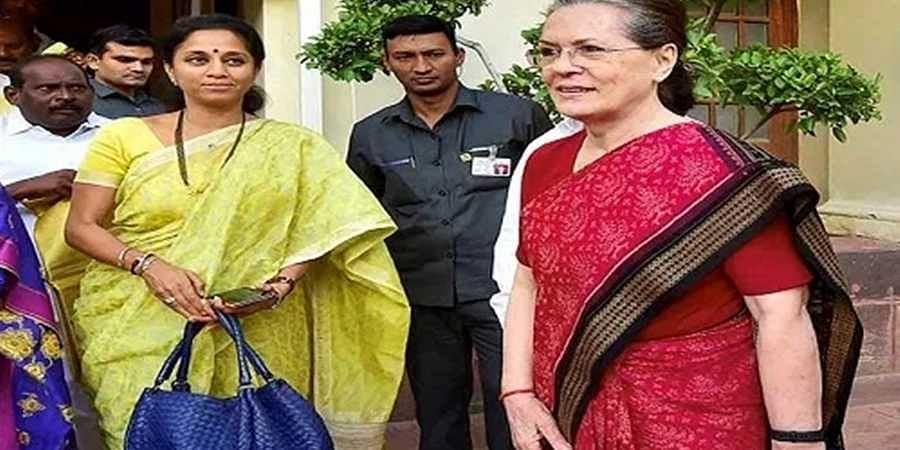 Supriya_sule_Sonia_Gandhi1