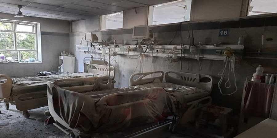 ICU department
