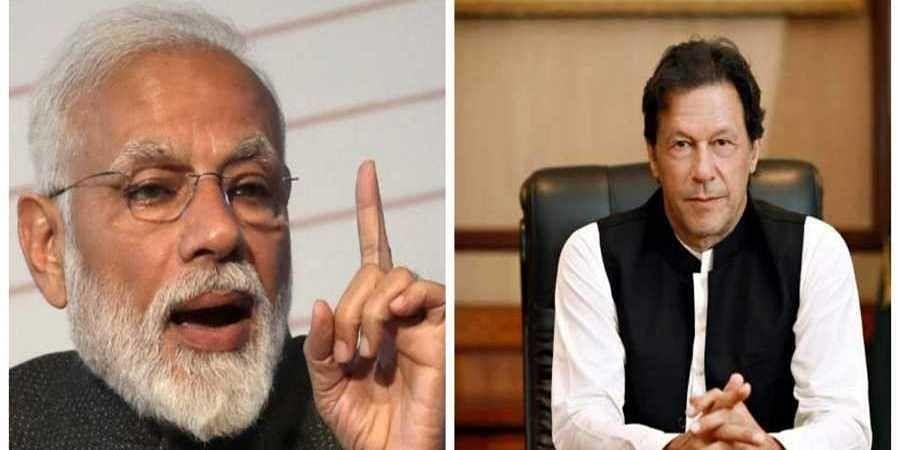 PM Narendra Modi and Pakistan PM Imran Khan(File photo)