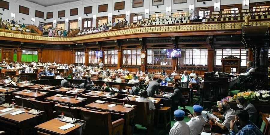 CM Yeddyurappa presenting Budget-2021