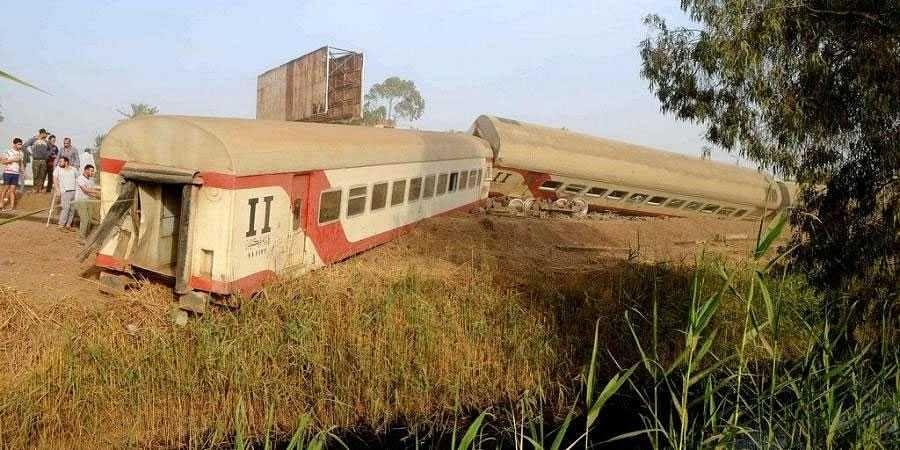Egypt Train Derails