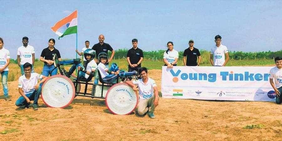 Odisha students' land rover wins big in NASA challenge