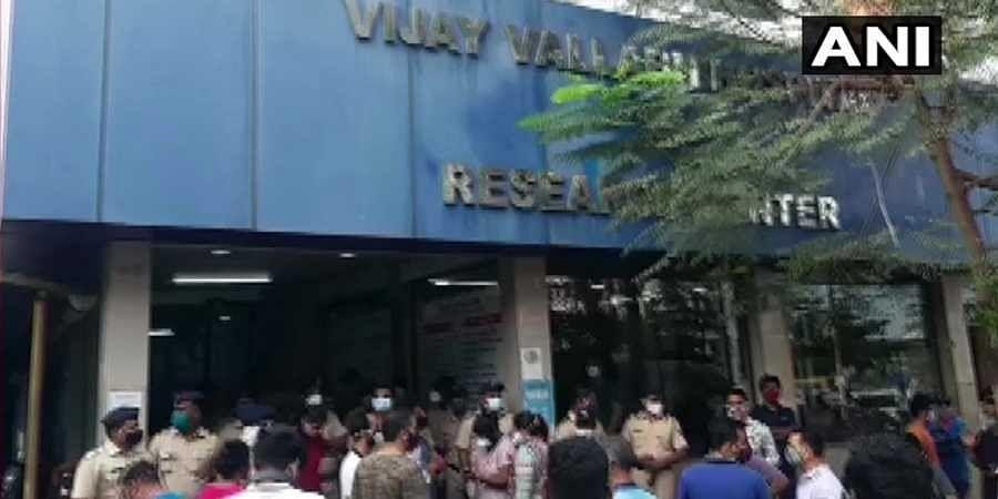 Vijay Vallabh COVID care hospital