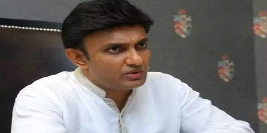 Dr K Sudhakar(File photo)