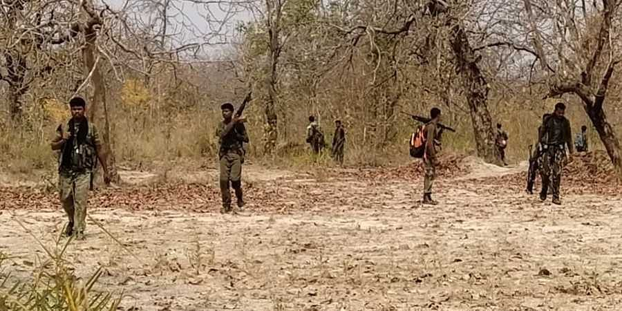 Visuals from the Sukma-Bijapur Naxal attack site