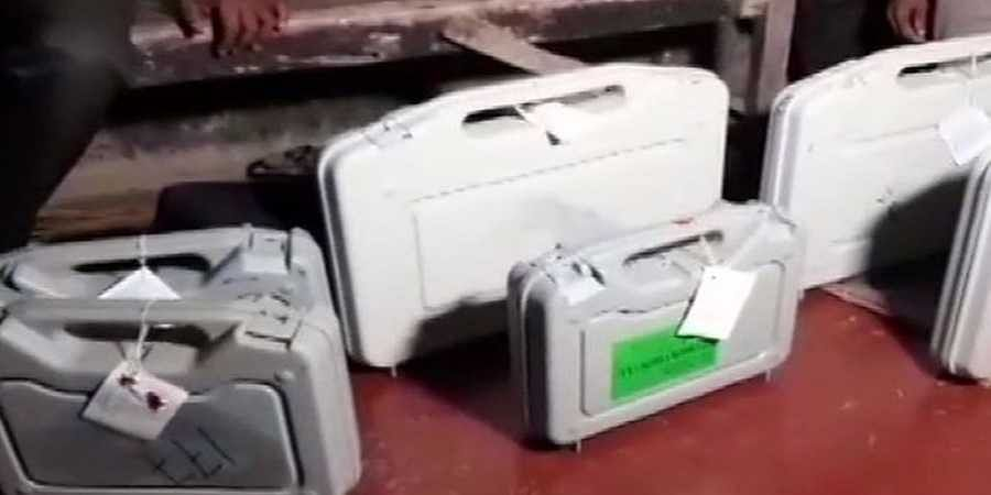 EVMs found at Trinamool leader's home, EC suspends officer