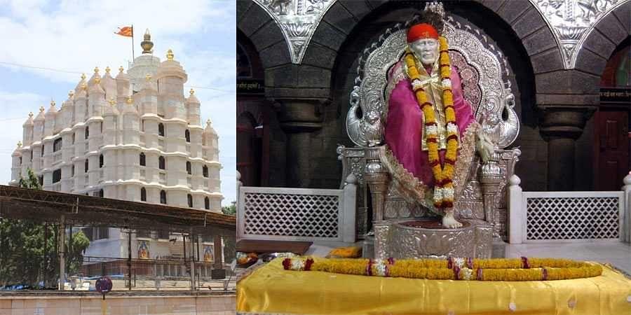 Siddhivinayak, Shirdi Sai Baba temple