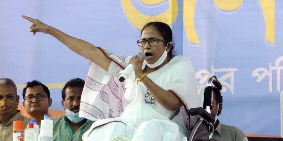 'BJP's CRPF' harassing people, preventing voters from entering booths, alleges CM Mamata Banerjee