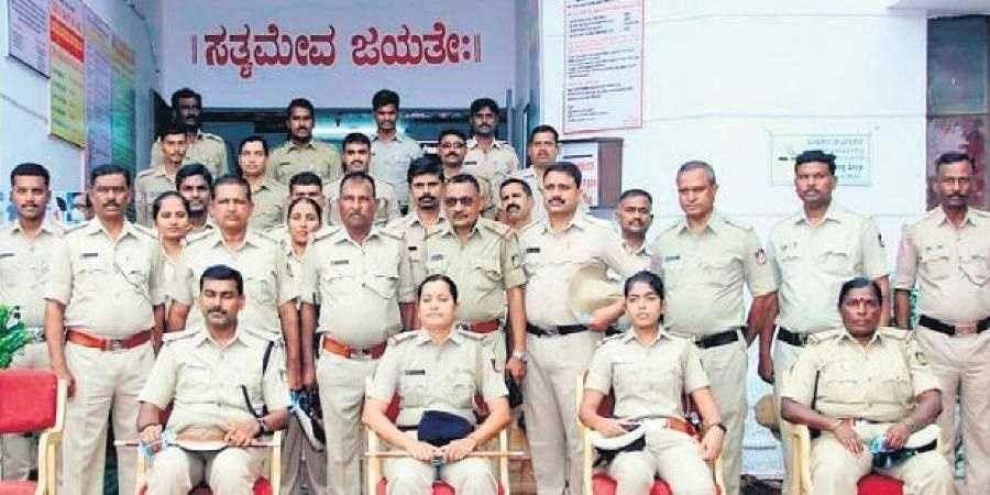 Bidar police station staff