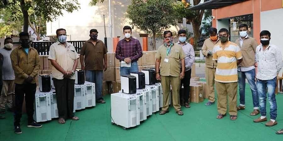 Tejasvi Surya launches MP Oxy Bank