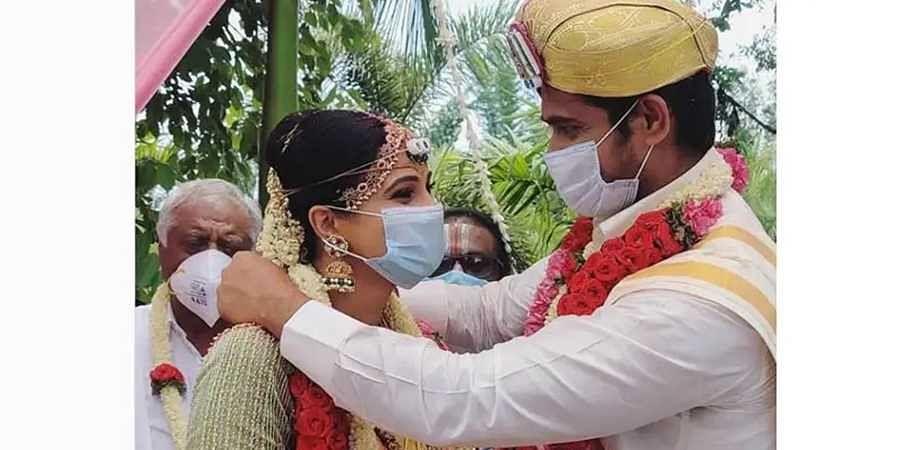 Kavitha gowda chandan wedding