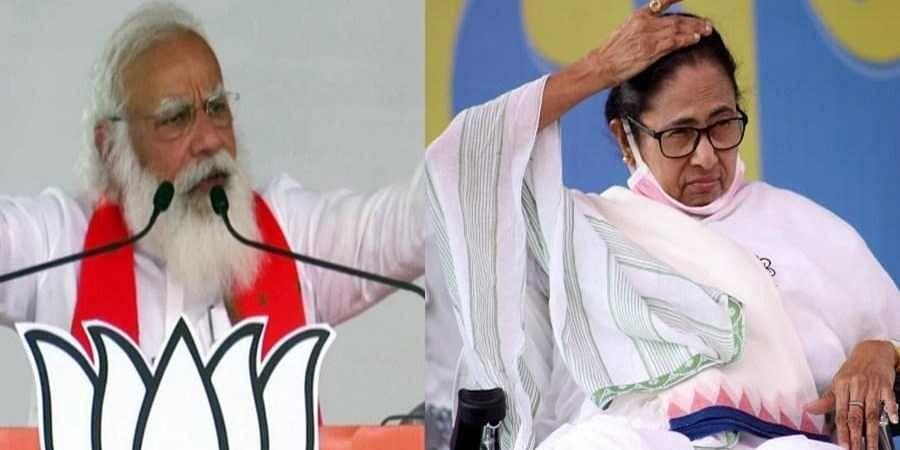 PM Narendra Modi and Mamata Banerjee