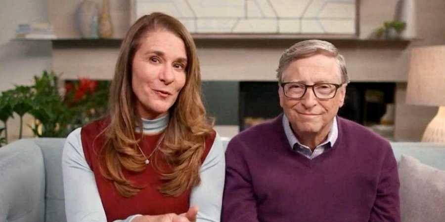 Microsoft co-founder Bill Gates and entrepreneur Melinda