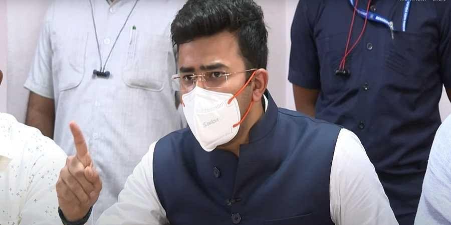 MP Tejasvi Surya